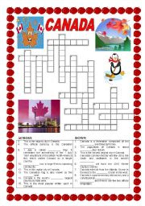 printable puzzle of canada english teaching worksheets canada