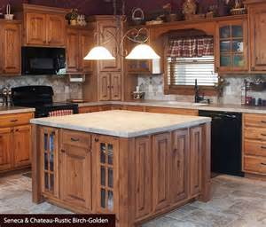 rustic birch kitchen cabinets the world s catalog of ideas
