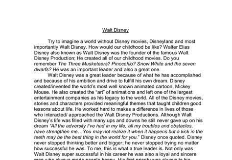 Racism In Disney Research Paper by Thesis Statement Walt Disney Resear