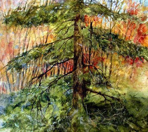 Blazing Trees Wall