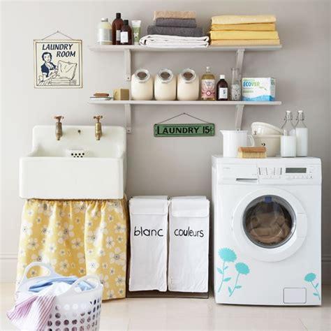 Retro Laundry Room Decor Laundry Room Storage Decorating Ideas Housetohome Co Uk