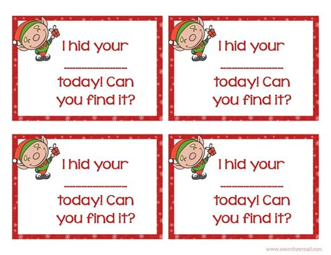 printable elf on the shelf cards elf on the shelf ideas with printable cards this worthey