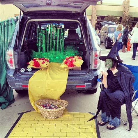 a ghoulishly collection of trunk or treat themes