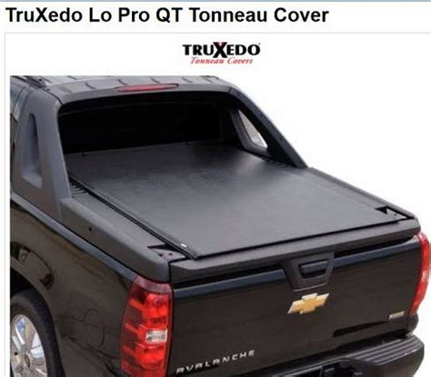 chevy avalanche bed cover bedcover tonneau cover for chevy avalanche by truxedo