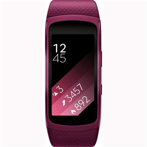 Samsung Smartwatch Fit samsung sm r360 gear fit 2 smartwatch with small band pink au ebay