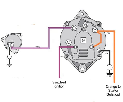 mando marine alternator wiring diagram wiring diagram