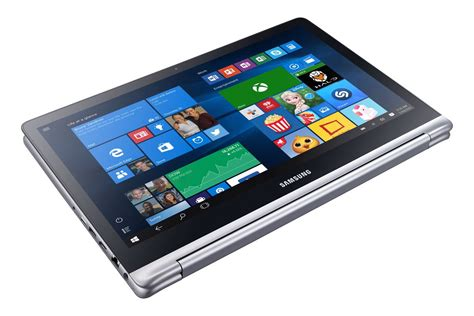 Tablet Notebook samsung s new notebook 7 spin is a tablet and laptop