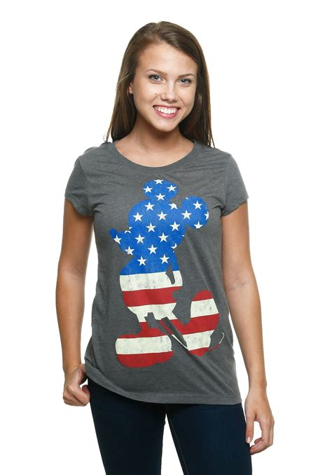 Miky Blouse womens mickey mouse usa t shirt