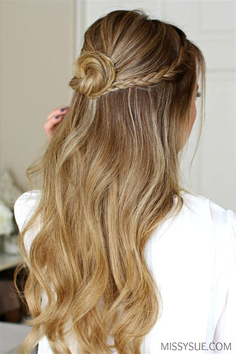 graduation hairstyles buns prom hair step by step hairstylegalleries com