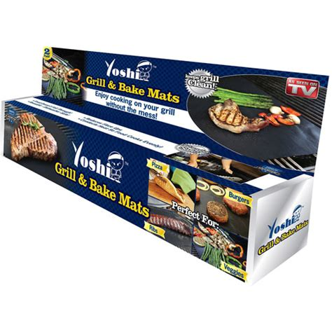 Grill Cooking Mats by As Seen On Tv Yoshi Grill And Bake Mat Walmart