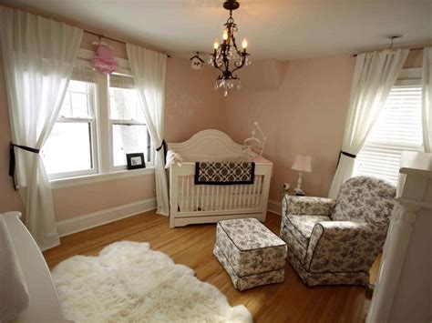 Girls Chandelier Ceiling Fan Nursery Decorating Ideas Hgtv