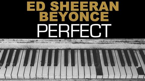 ed sheeran perfect official instrumental ed sheeran beyonce perfect duet karaoke instrumental