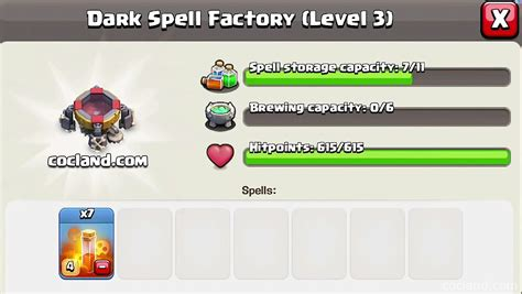 clash of clans new dark spells update ideas new 3 new spells earthquake poison and haste