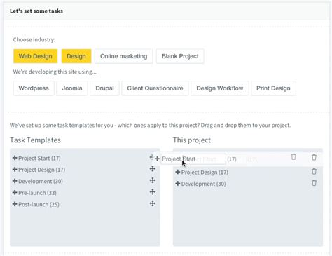 customizing project templates 5 awesome tools to improve your web design project