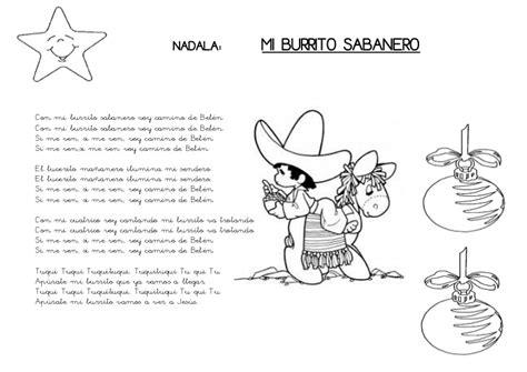 villancicos para ni241os villancico mi burrito sabanero canciones infantiles