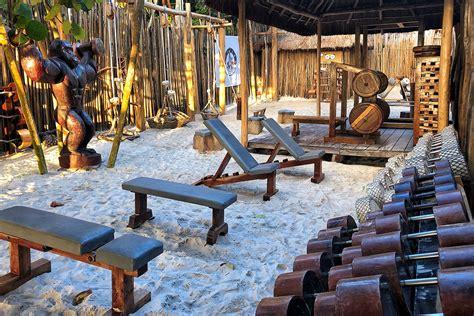 tulum jungle gym worlds  beach gym