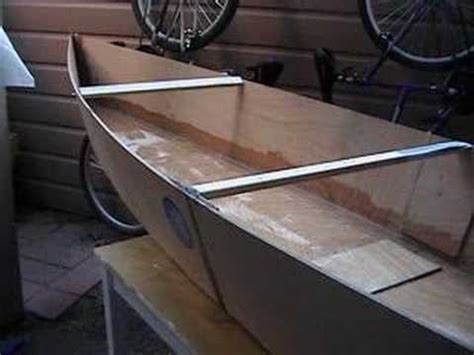 how to use homemade boat plans vocujigibo home made plywood canoe youtube