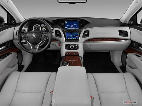 2017 acura rlx interior u s news world report