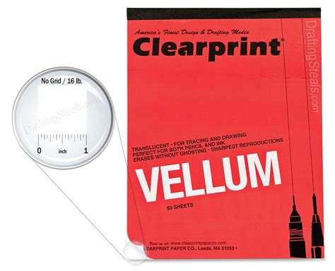 printable translucent vellum paper vellum pads clearprint translucent drafting tracing