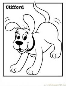 clifford big red dog free coloring pages art coloring pages