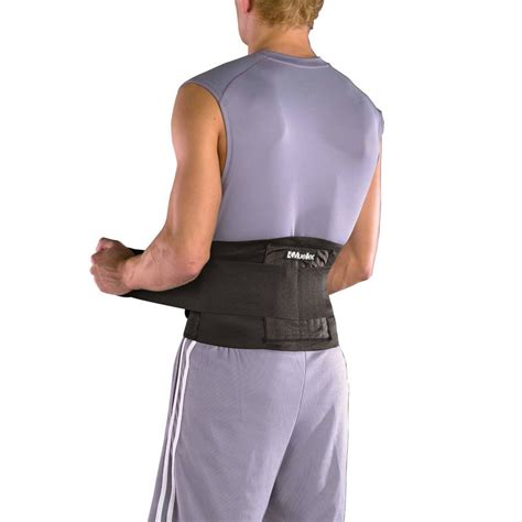 Back Support by Back Brace Waist Lumbar Support Lower Back Belt Ebay