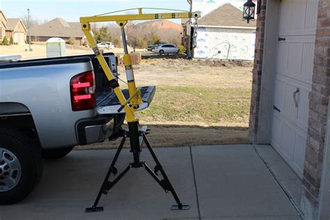 truck bed crane maxxtow hydraulic pickup truck crane for 2 quot hitches