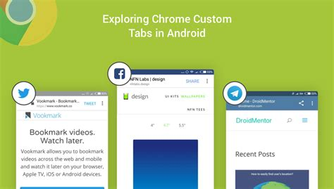 chrome tabs android exploring chrome custom tabs in android