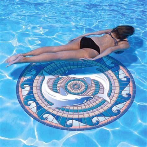 decorative swimming pool mats