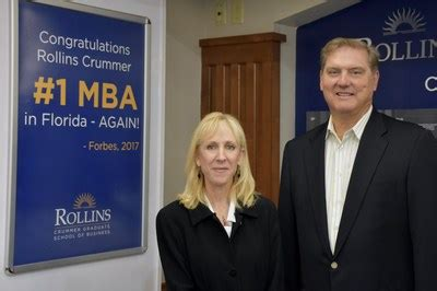 Rollins College Early Advantage Mba Graduates by Former Of Siemens Usa Named Executive In Residence At The