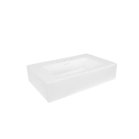Ronbow Vanity Top by Ronbow Prominent 32 In W X 19 75 In D Vitreous China