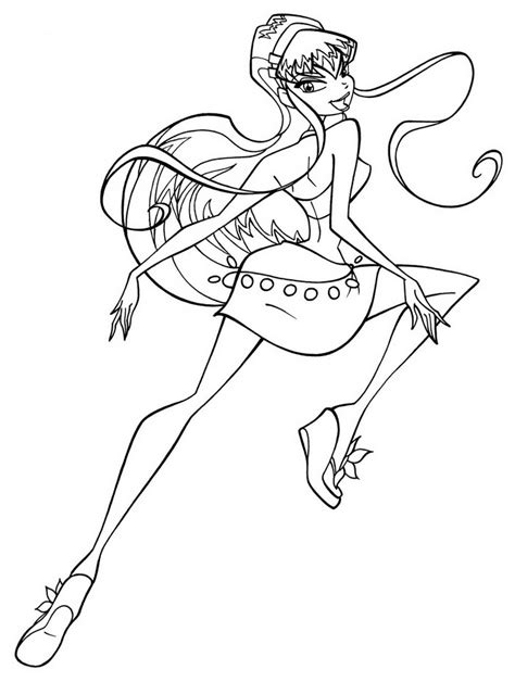 coloring pages for winx club free coloring pages of winx enchantix