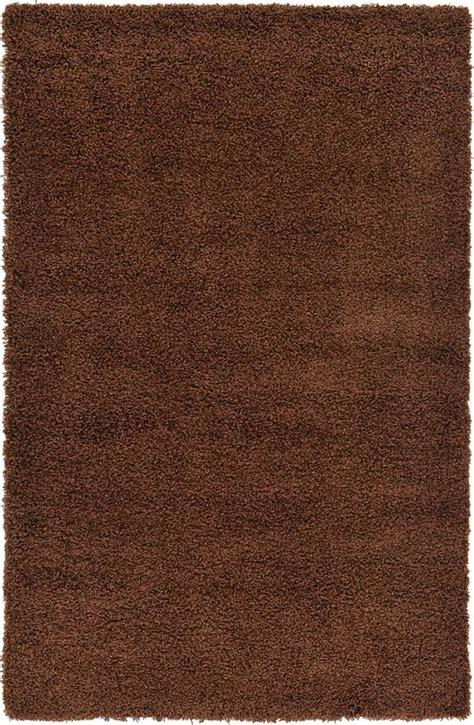 Chocolate Brown Shag Rug by Chocolate Brown 5 X 8 Solid Shag Rug Area Rugs Esalerugs