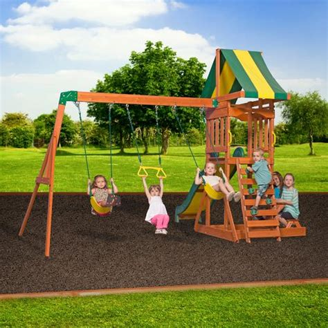 academy swing sets backyard discovery prestige wooden swing set academy