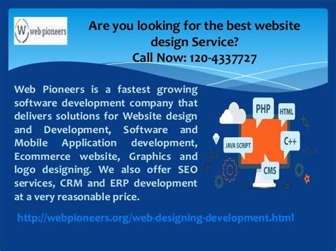 pattern web company in noida web pioneers website designing and development company in