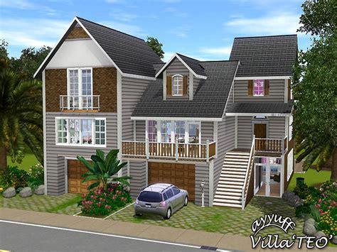 Sims House by Ayyuff S Villa Teo Furnished