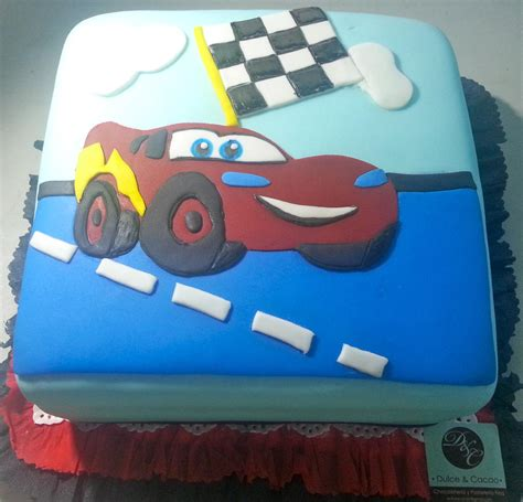 cars lightning mcqueen cake cookie connection