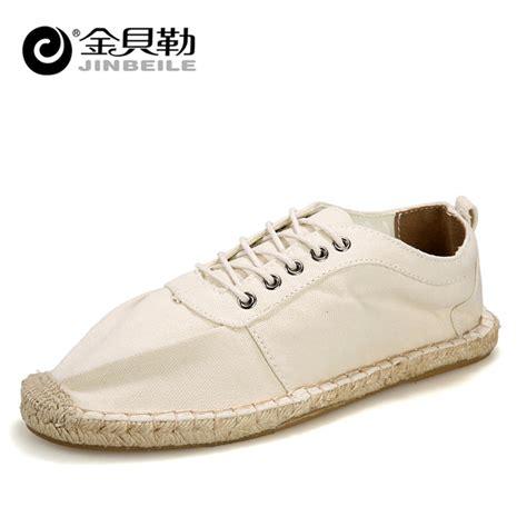 hemp loafers summer style 2015 new handmade mens loafers shoes hemp