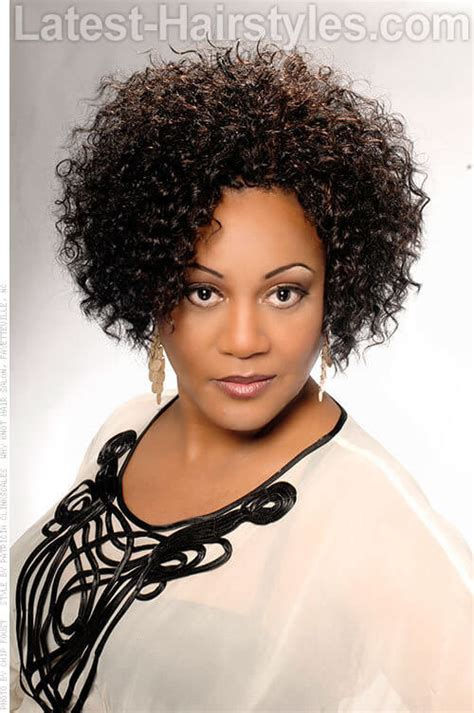 short bobs for tight curls 20 angled bob hairstyles for black women