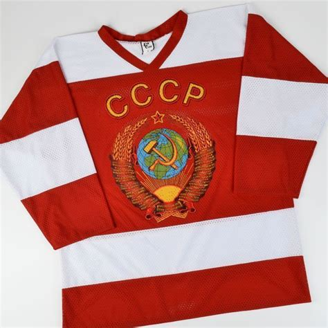 Tshirt Cccp Log russian t shirts kharlamov cccp russian hockey jersey