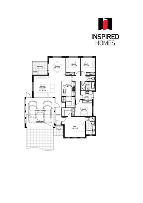 floor plan logo harmony floor plan with logo inspired homes