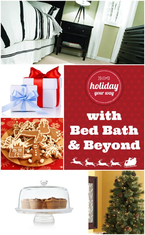 bed bath and beyond gift wrapping ginger snap crafts holiday your way with bed bath beyond
