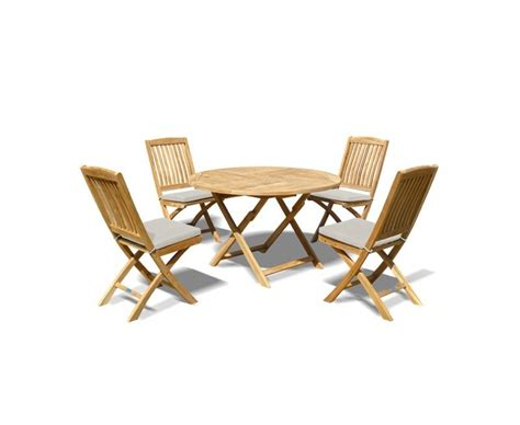 high end folding table and chairs suffolk folding garden table and 4 bali chairs set