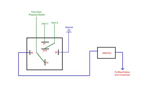 5 post relay wiring diagram starter relay wiring diagram