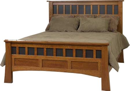 bridgeport mission style oak bedroom collection amish up to 33 off bridgeport antique mission bed solid wood