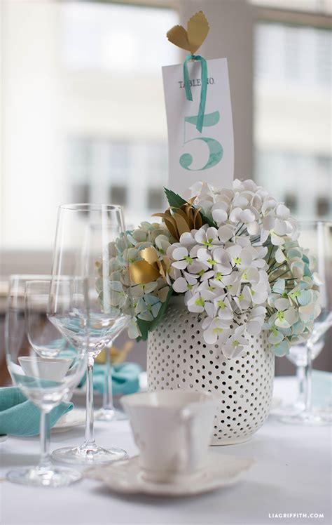 Teal Table L Watercolor Teal Wedding Table Numbers Lia Griffith