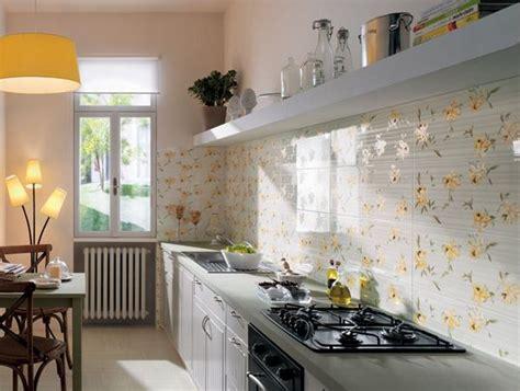 Hiasan Rumah Hiasan Dinding Bunga Nuansa Hijau pola unik dinding dapur rumah minimalis rancangan desain