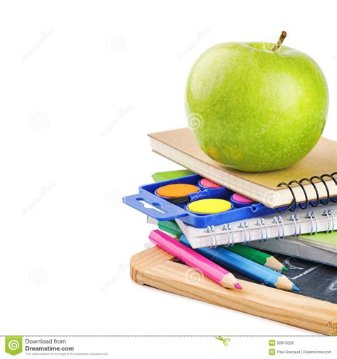 colorful office school supplies royalty free stock image colorful school supplies royalty free stock images image