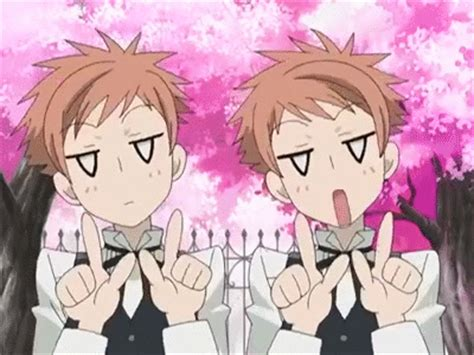 ouran high school host club gif find on giphy