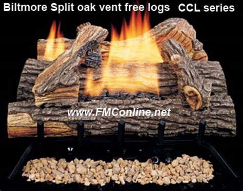 comfort glow gas logs comfort glow biltmore split oak vent free gas logs fmconline