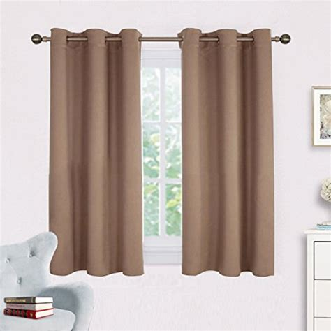 Blackout Window Curtains And Drapes For Kitchen Nicetown Blackout Kitchen Curtains